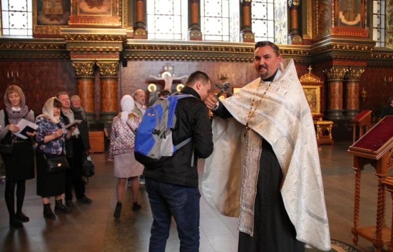 Благодарственый молебен и вручение дипломов
